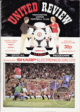 Manchester United v Everton 1982 / 83 Division 1 - 8th September