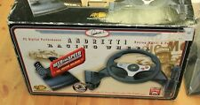 Mario Andretti Mad Catz Racing Wheel for PC