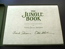 Walt Disney The Jungle Book Art Portfolio Signed Rare Limited Edition Box Set