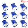 10 X Blue T10 8-SMD 3020 LED Wedge Side Light bulb Lamp W5W 194 168 501 12V FY