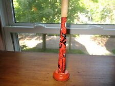 Vintage KIRCHHOF USA Halloween Metal Horn / Noise Maker ~ Rare ~ Great Graphics
