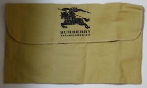 "Burberry Envelope Purse Wallet Dust Bag 11.75"" x 6.75"""