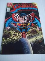 The Adventures of Superman #435 (Dec 87, DC) December 1987 Wolfman Ordway