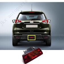 Lens Rear Bumper Fog Light Stop Brake Lamp k for Nissan X-trail Rogue 2014-2016