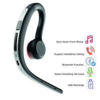 Light Weight Stereo Bluetooth Headset Headphone For Samsung Galaxy A3 A5 S4 Mini