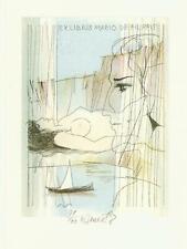 Ex libris erotic exlibris by BENES KAREL / Czech
