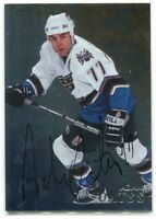 1998-99 Be A Player Autographs 296 Adam Oates Auto SP /450