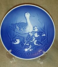 Bing and Grondahl 1973 Duck and Duckling Mother's Day Plate