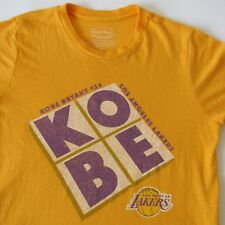 Kobe Bryant #24 Los Angeles Lakers Men's Shirt Majestic Threads Made in USA SM