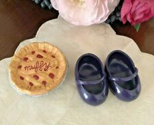 North American Bear Company / Nabco Muffy Cherry Pie & Purple Shoes ~ Excellent!
