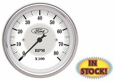 "Auto Meter Ford Masterpiece 3-1/8"" In-Dash 8,000 RPM Tachometer - 88088"