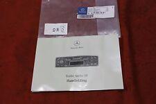 Mercedes w203 C clase-audio 10 radio-manual de instrucciones-nuevo & nos
