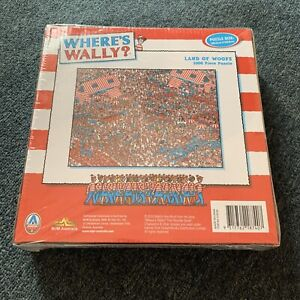 *New Sealed* Where's Wally? 1000 Piece Jigsaw Puzzle LAND OF WOOFS 68.5 x 50.5cm