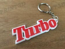 Porte clés / Keychain PVC souple Renault 5 Alpine A5 Turbo logo rouge/blanc