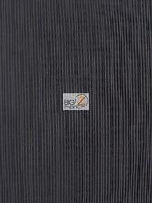 """MINI PLEATED PLISSE SATIN FABRIC - Black - 48"""" WIDTH DRESS SKIRTS TOPS FASHION"""