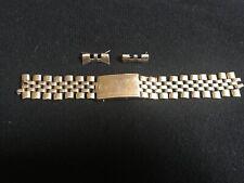 Original Rolex 14k Gold Bracelet Wristwatch Band!