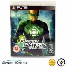 Green Lantern: Rise of the Manhunters (PS3) ** **! Excelente Estado!
