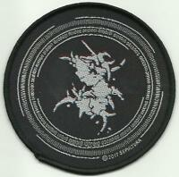 SEPULTURA Binary Circular 2017 - WOVEN SEW ON PATCH official merchandise