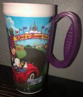 Walt Disney World WDW Resorts Rapid Fill Mug Cup Purple Handle 2016 No Lid