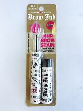 Lot of 3 ~ Hard Candy Brow Ink #1103 LIGHT MEDIUM 24 hour Brow Stain   CARDED