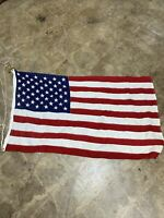50 Star US Flag Approx 3'x5' Vintage