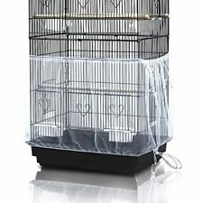 Bird cage Cover Universal-Seed Catcher Mesh Parrot Cage Skirt High Quality 200Cm