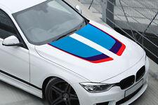 2 X BANDES POUR CAPOT BMW RACING STRIPE 75cmX25cm AUTOCOLLANT STICKER BD589
