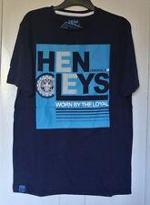 New Henleys T-shirt Navy/ Blue sze XLB age 13-14 years