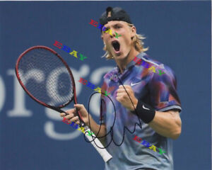 Denis Shapovalov  Autographed Signed 8x10 Photo Reprint