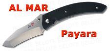 Al Mar Payara Folder G-10 Plain Edge w/ Clip AM-PA2 NEW