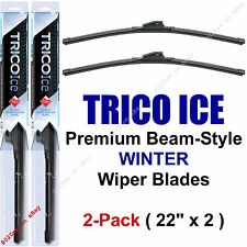 "2-Pack Trico ICE 35-220 22"" WINTER Wiper Blades Super-Premium Beam Wiper Blades"