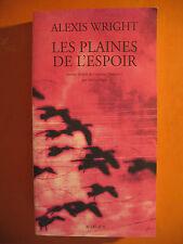 Les plaines de l'espoir -Alexis Wright -éditions Actes Sud