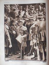 1930 RE E REGINA D'ITALIA ANNIVERSARIO BATTAGLIA DEL PIAVE MEDAGLIE D' ORO REALI