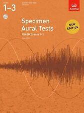 ABRSM Specimen Aural Tests Grades 1-3 Book/2 CD's - Same Day P+P