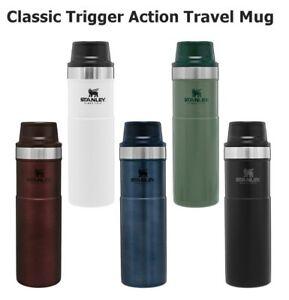 12oz / 16oz Stanley Classic Trigger Action Travel Mug Bottle NEW - 0.35L & 0.47L