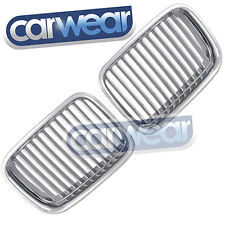BMW E36 3-SERIES 91-96 SEDAN COUPE CHROME KIDNEY GRILLS/GRILLE M3 CLASSICAL LOOK