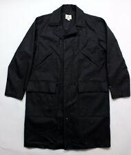 BRAND NEW - Snow Peak Charcoal Grey Wool 3/4 Length Coat -XL- MSRP $450