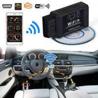 ELM327 WIFI OBD2 OBDII Auto Car Diagnostic Scanner Scan Tools for iOS Android HQ