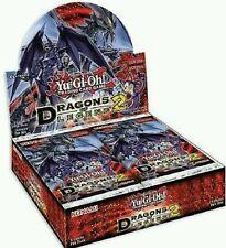 Yugioh Dragons of Legend Series 2: HALF Booster Box 1st Edition-READ DESCRIPTION