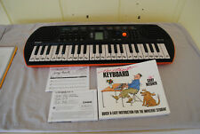 Casio SA-76 Keyboard with Instant Keyboard book (instructionally)