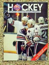 1988-89 Rochester Americans (AHL) [Buffalo Sabres] official game program