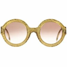 b3b1c23fb1 CHRISTIAN DIOR S S 1992 Translucent Gold Dot Round Optyl Frame Sunglasses  2567