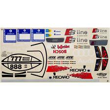 Decal Sheets 1:10 ABT Audi TT-R S Line 24 H Race 2003 wenlinger Nissen tomczy