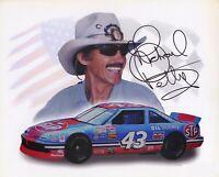 Richard Petty Autographed Signed 8x10 Photo ( HOF ) REPRINT