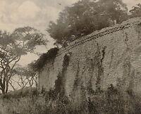 1899 Aufdruck Colonial South Afrika The Great Wall Von Zimbabwe Tempel Rhodesien