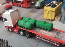 2pk 3D Printed Fuel Bowsers (light green) 1/76. 1/72 Scale And 00 Gauge