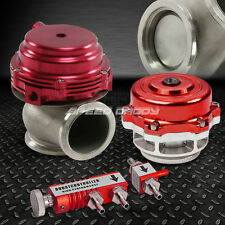 RED 30PSI TURBO BOOST CONTROL+44MM WASTEGATE+50MM TURBOCHARGE BLOW OFF VALVE