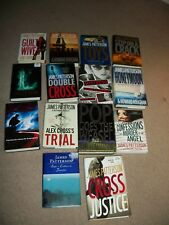 LOT OF 14:   BOOKS BY JAMES PATTERSON.....WOW !!!!