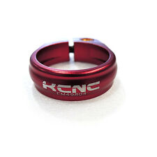KCNC Road Pro SC9 AL7075 Bike Bicycle 34.9mm Seatpost Clamp Collar - Red