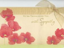 American Greetings Sympathy Card: At Times Like This It's Hard To Find the Words